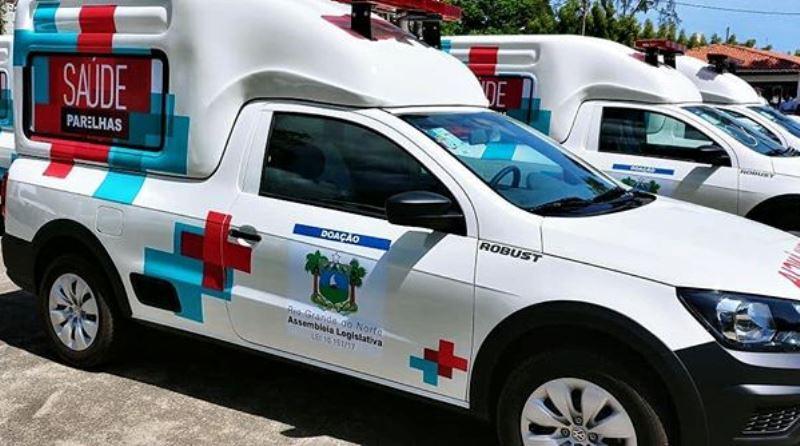 Resultado de imagem para ambulancias doadas pela alrn